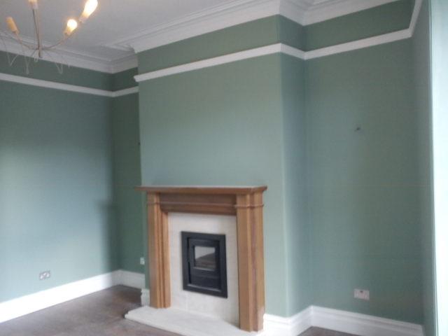 Living room painting, Bradford - Paint My Pad