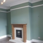 Living room painting, Bradford