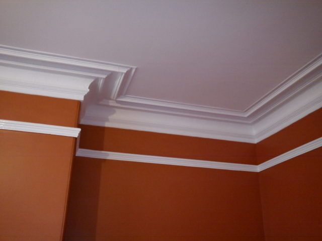 Crown Molding Ideas >> Ceiling and Cornice painting, Idle Bradford - Paint My Pad